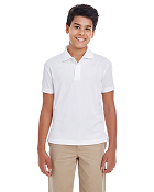 88181Y Youth Polyester Polo Shirt