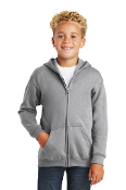 18600B Youth Full-Zip Hooded Sweatshirt