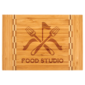 "GFT470 Bamboo Cutting Board 8""x12"""