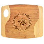 "GFT890 Bamboo Two Ton Cutting Board 9""x11"""