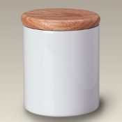 5889 Canister with Wood Lid
