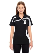 78645 Ladies/Mens Performance Polyester Pique Color-Block Polo