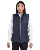 NE702W Puffy Vest - Ladies
